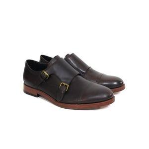COACH Alexander Double Monk Strap Oxfords Size 8 W